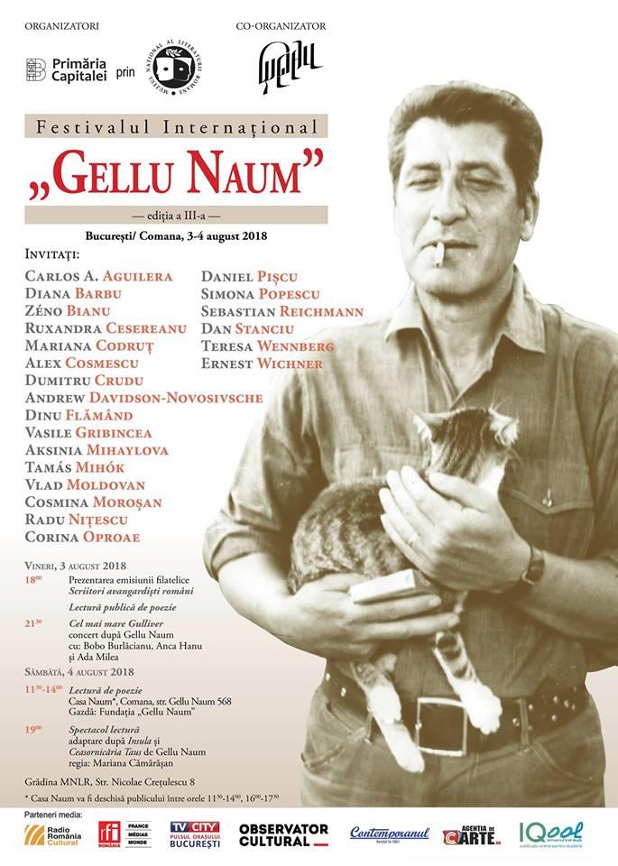 "Festivalul Internațional ""Gellu Naum"""