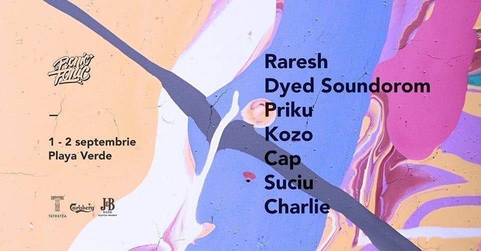 Raresh / Dyed Soundorom / Priku / Kozo / Cap / Suciu / Charlie