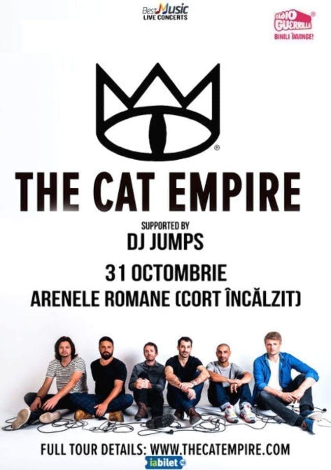 The Cat Empire - 31 octombrie - Arenele Romane