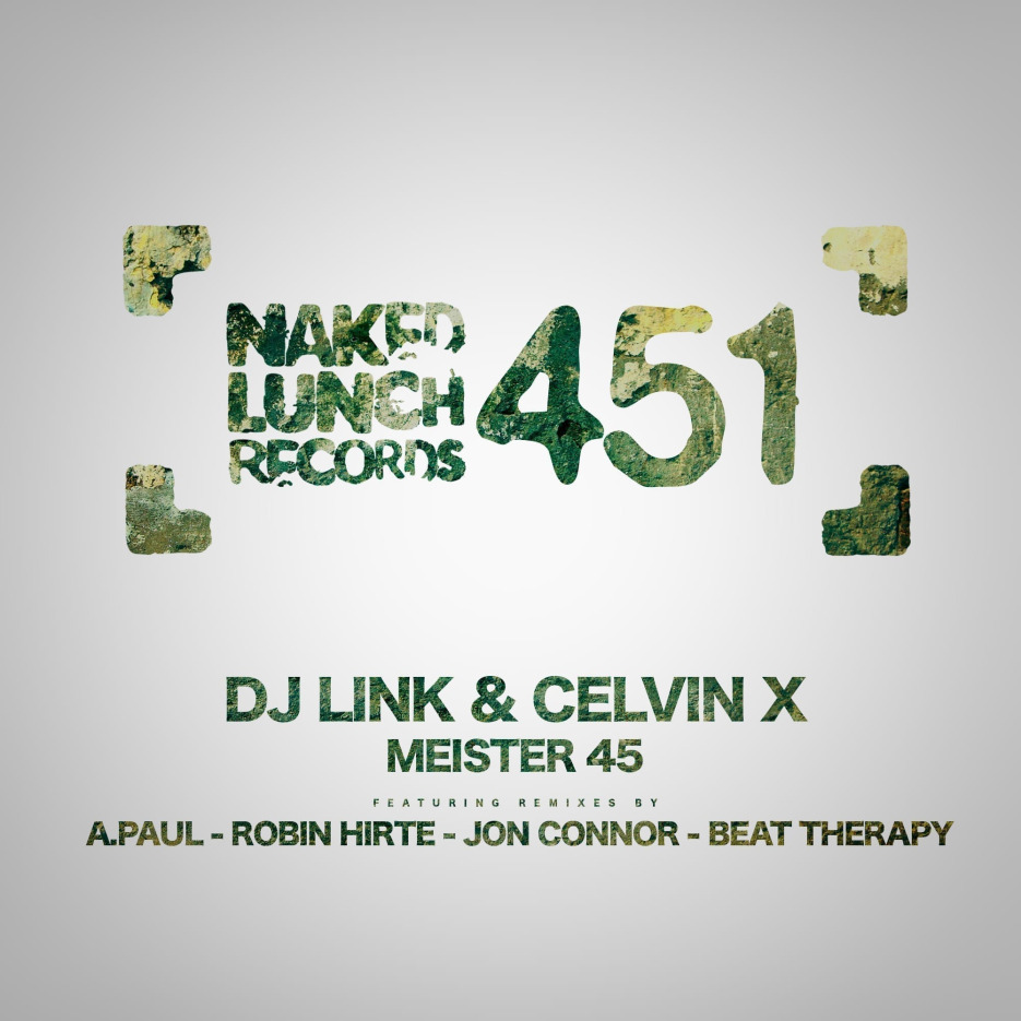 """DJ Link and Celvin X present their new ep: """"Meister 45"""""""