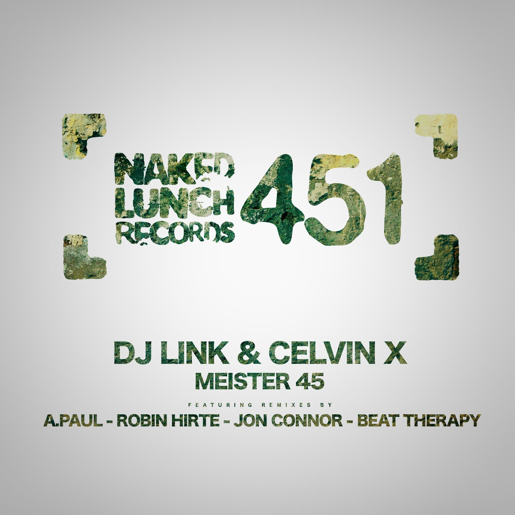 "DJ Link and Celvin X present their new ep: ""Meister 45"""