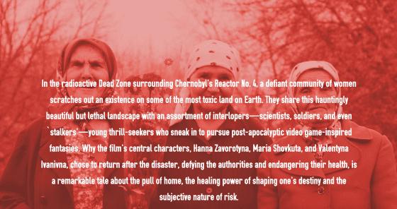 PUBLIC FACADES: Babushkas of Chernobyl - screening