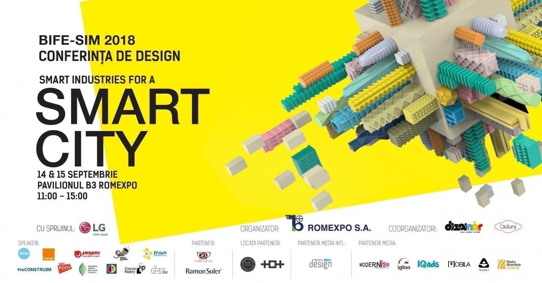 Conferinta de Design 2018 - Smart Industries for a Smart City