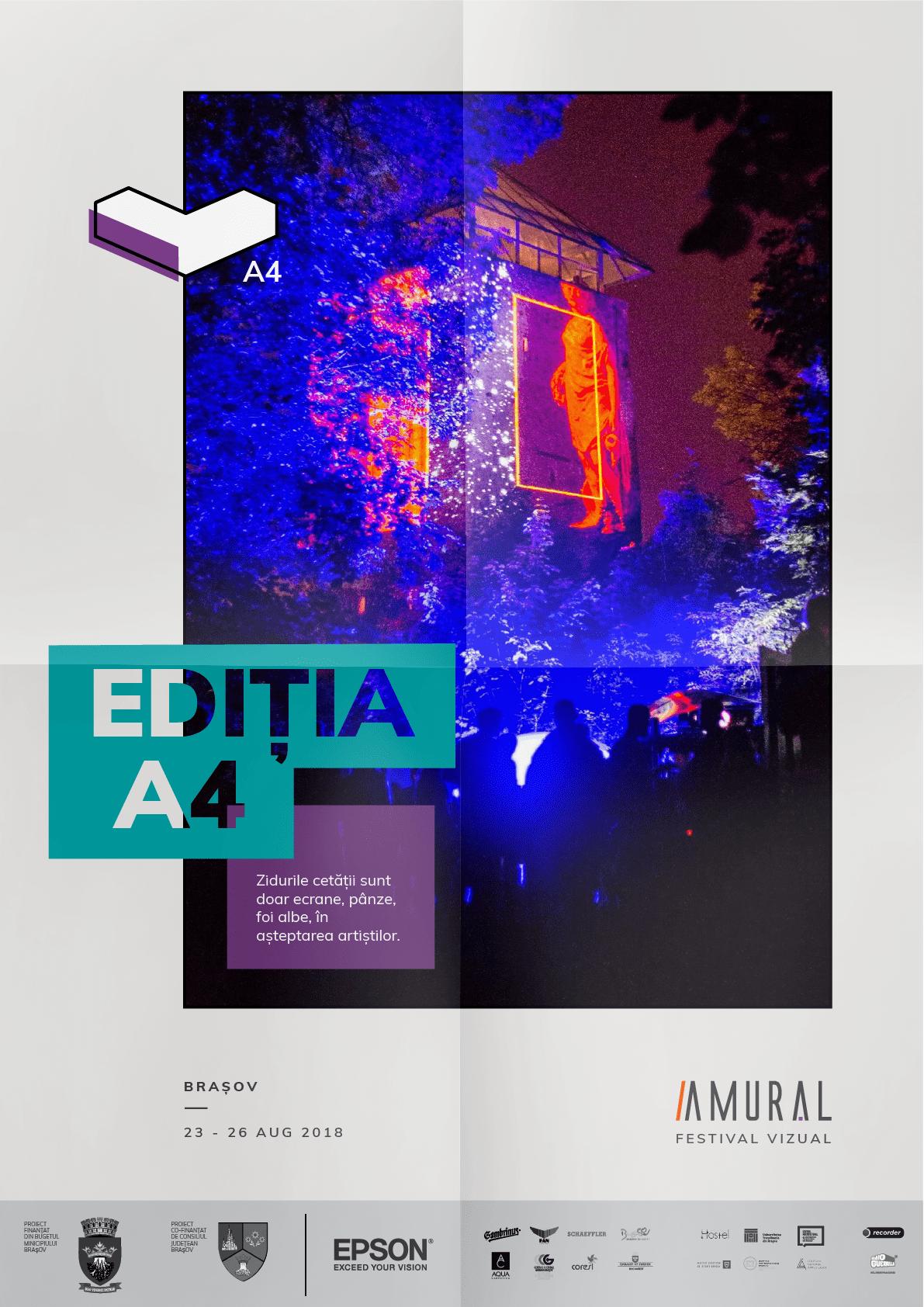 AMURAL – Ediția A4 O NOUĂ PAGINĂ ÎN ARTA VIZUALĂ