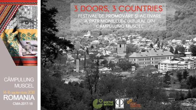 """""""3 Doors, 3 Countries"""" – 14-16 septembrie 2018"""