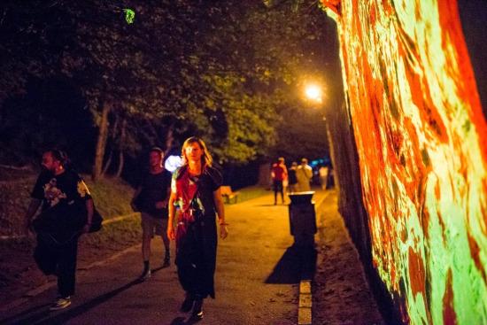 Amural fesitval 2018 Brasov După ziduri