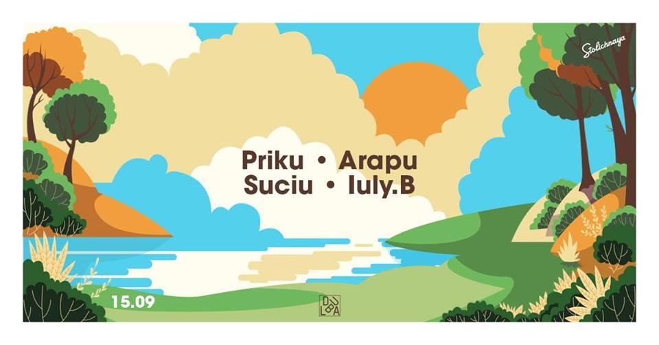 Dubla: Priku / Arapu / Suciu / Iuly.B