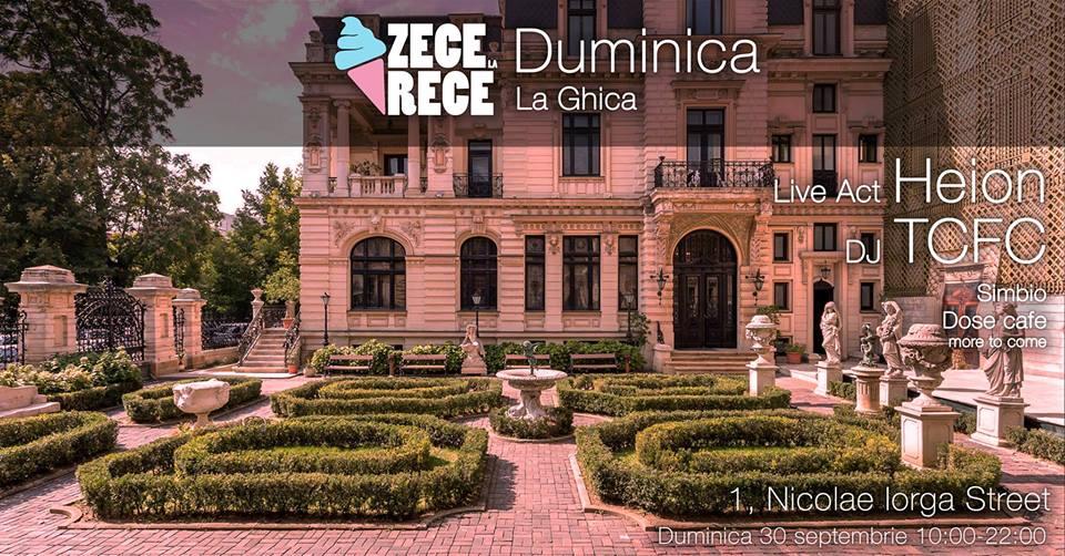 Zece La Rece: Duminica la Ghica cu Heion (Live)