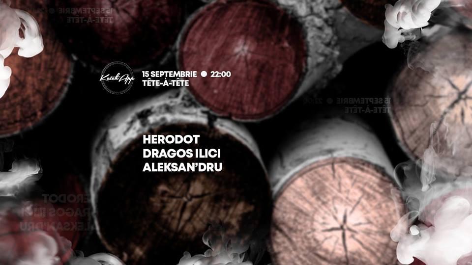 KatchApp September w. Herodot / Dragos Ilici / Aleksan'dru