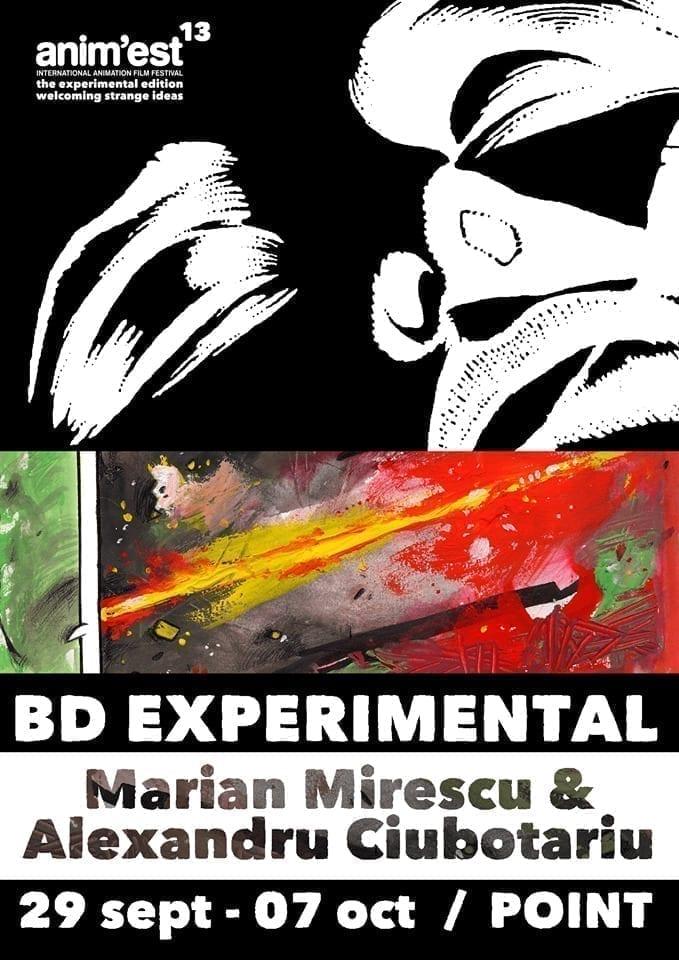 Expoziția BD EXPERIMENTAL