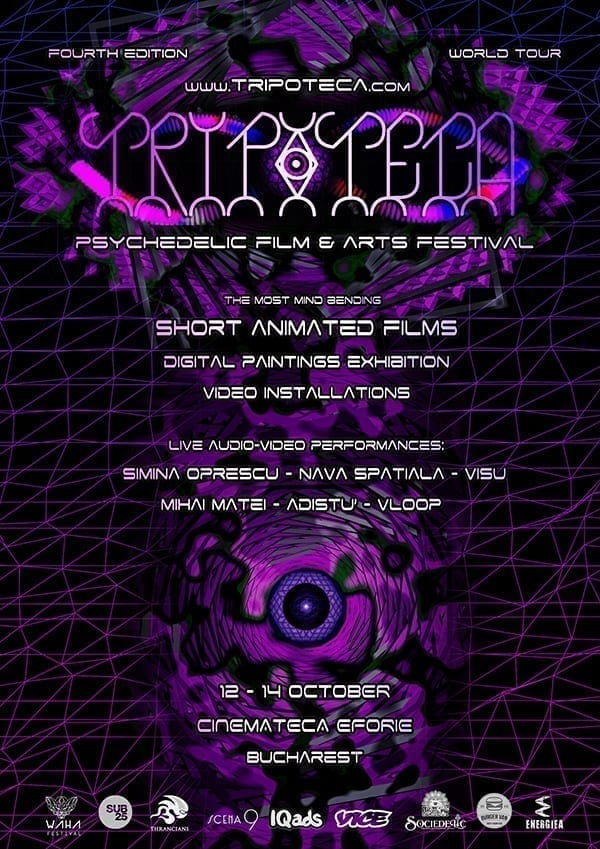 Tripoteca - Psychedelic Film & Art Festival at Bucharest