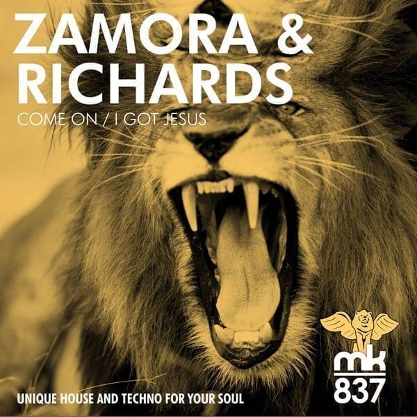 Samuel Zamora and Dave Richards team up for a gospel techno hybrid release
