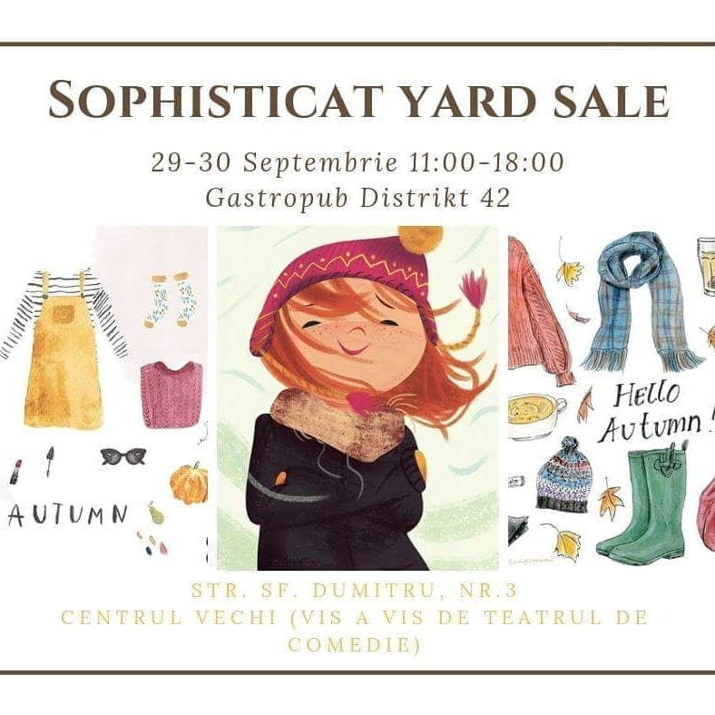 Sophisticat Fall Yard Sale