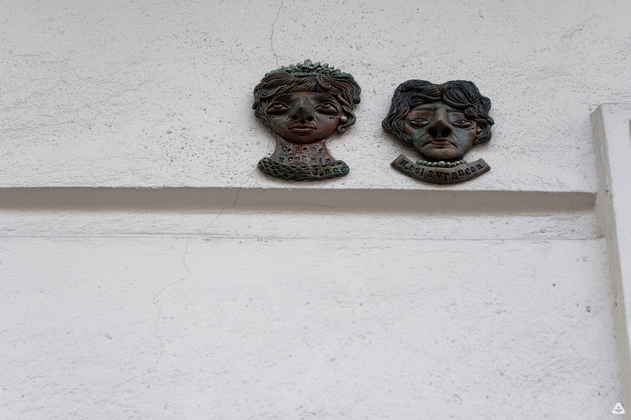 J.Ace street art at Teatrul de vara Capitol