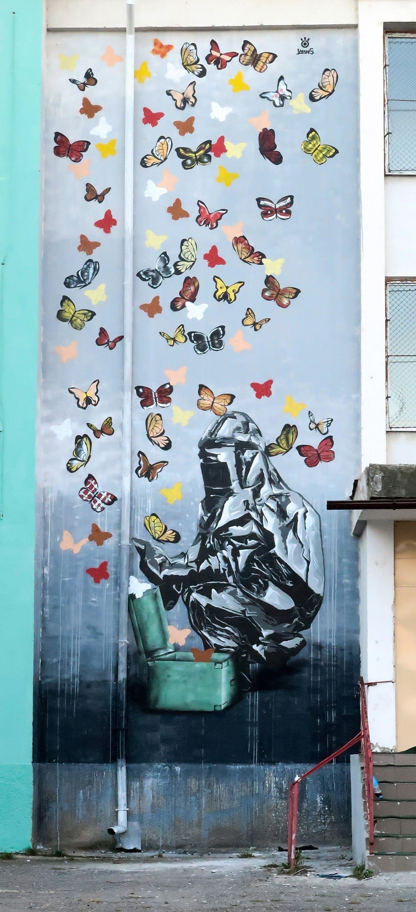 John Dot S SISAF - un-hidden bucharest atelier stencil