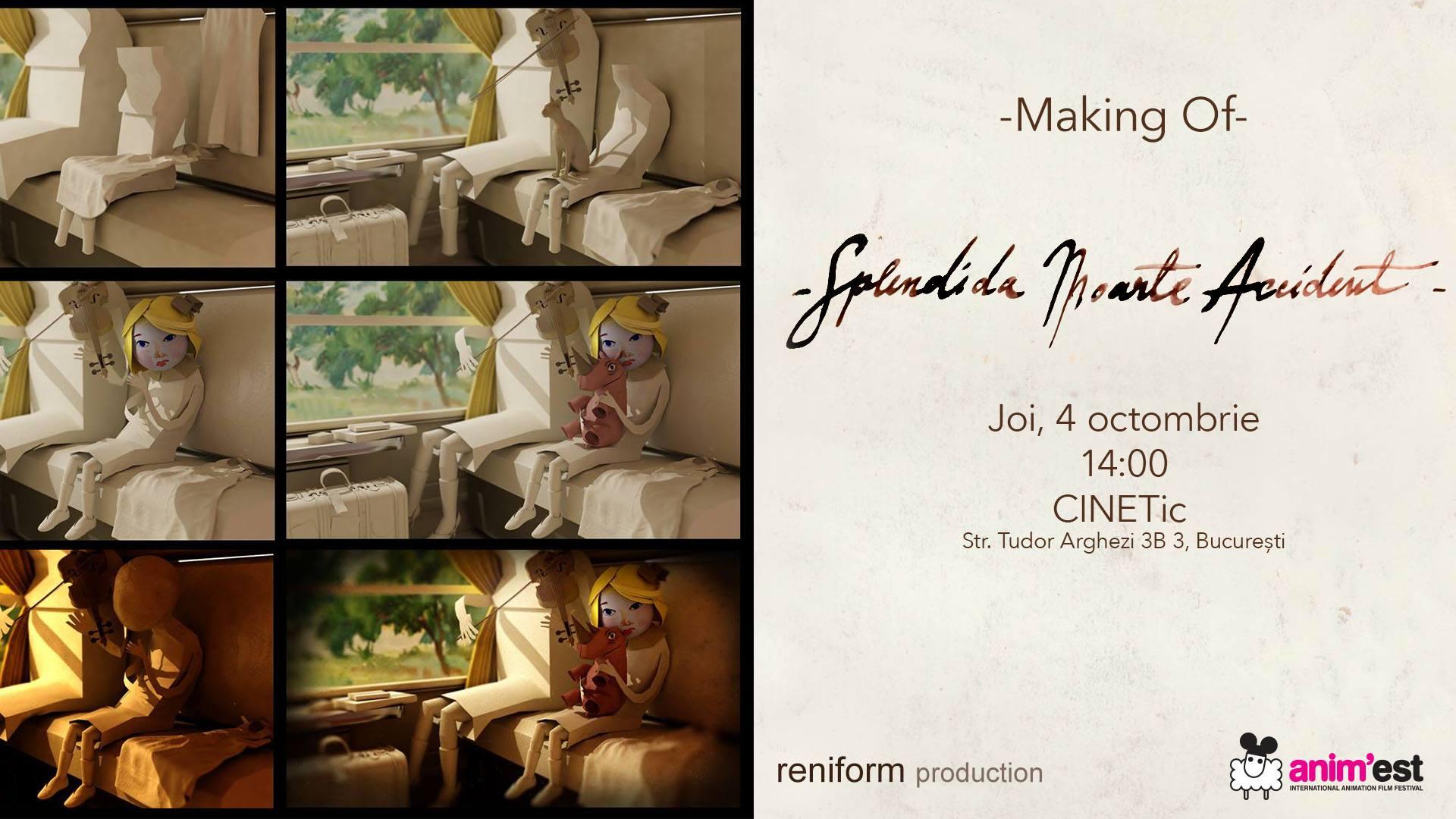 """Making of """"Splendida Moarte Accident"""" @Anim'est"""