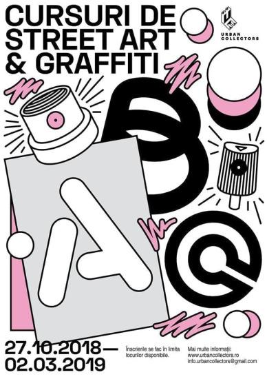 Urban Art School // Graffiti, stencil, pasteups & stickers