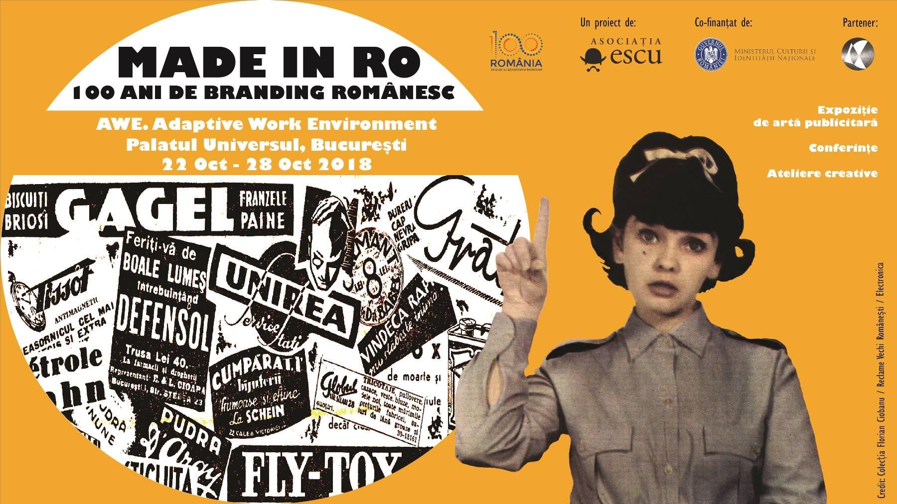 Made in RO: 100 ani de branding romanesc