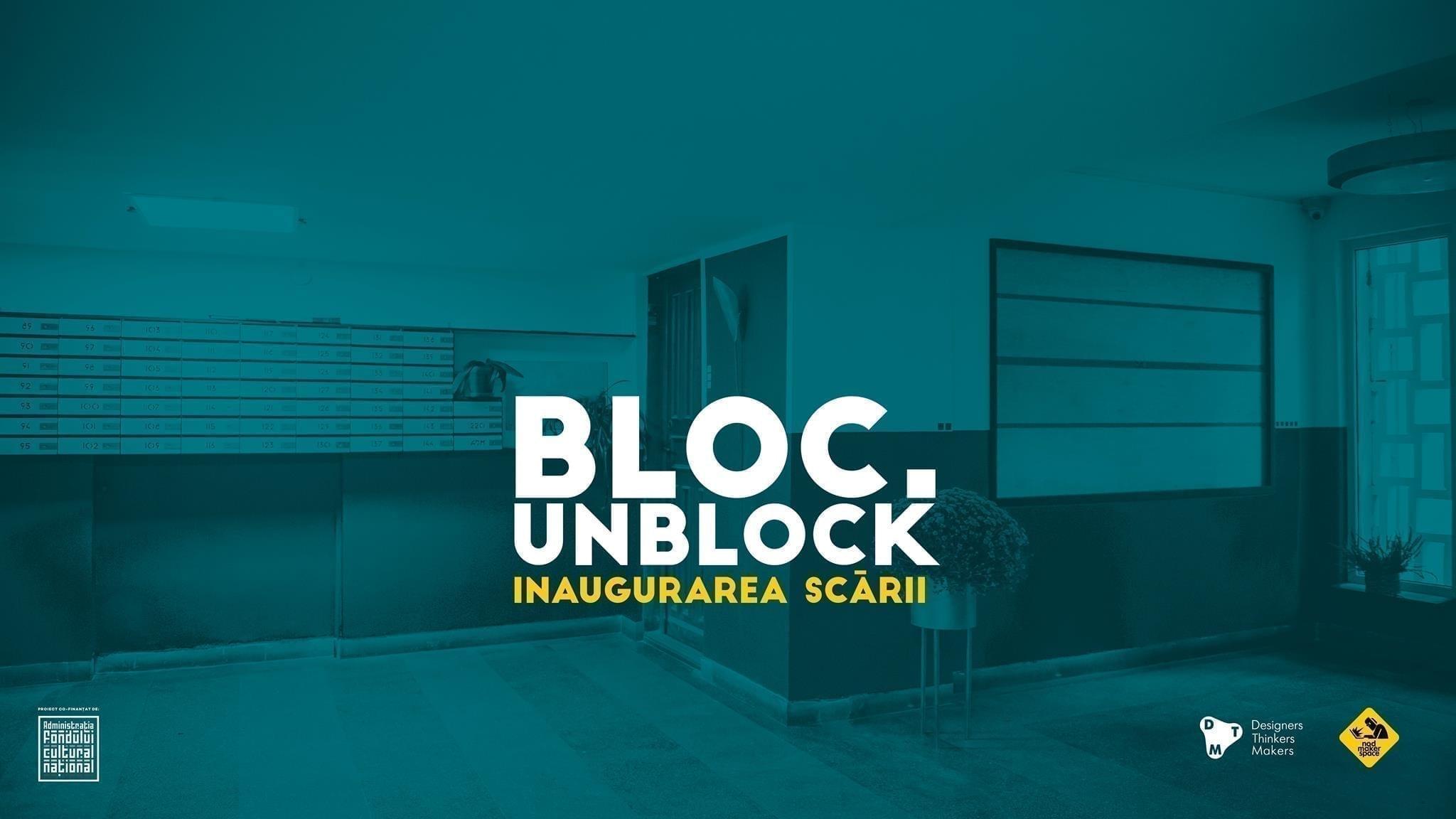 Bloc. Unblock. Launch event