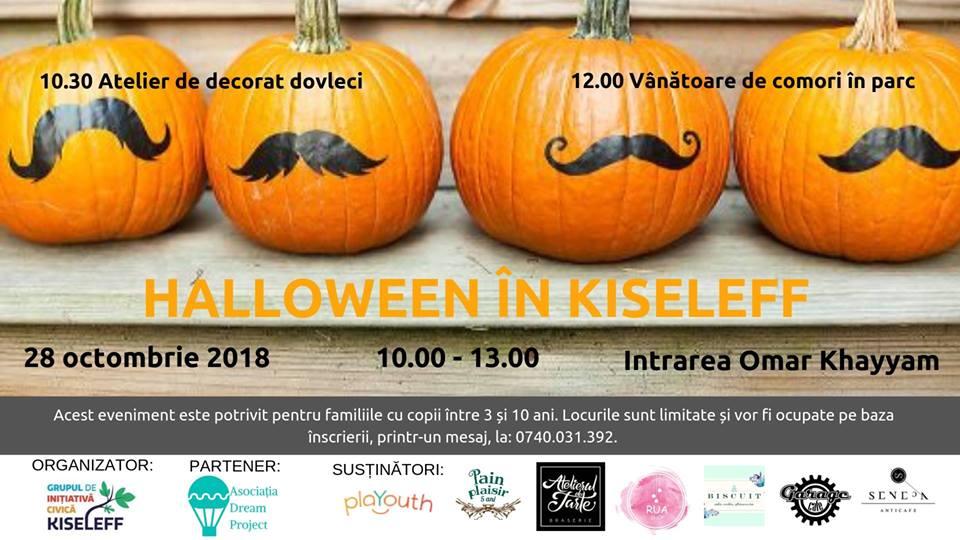 Halloween în Kiseleff