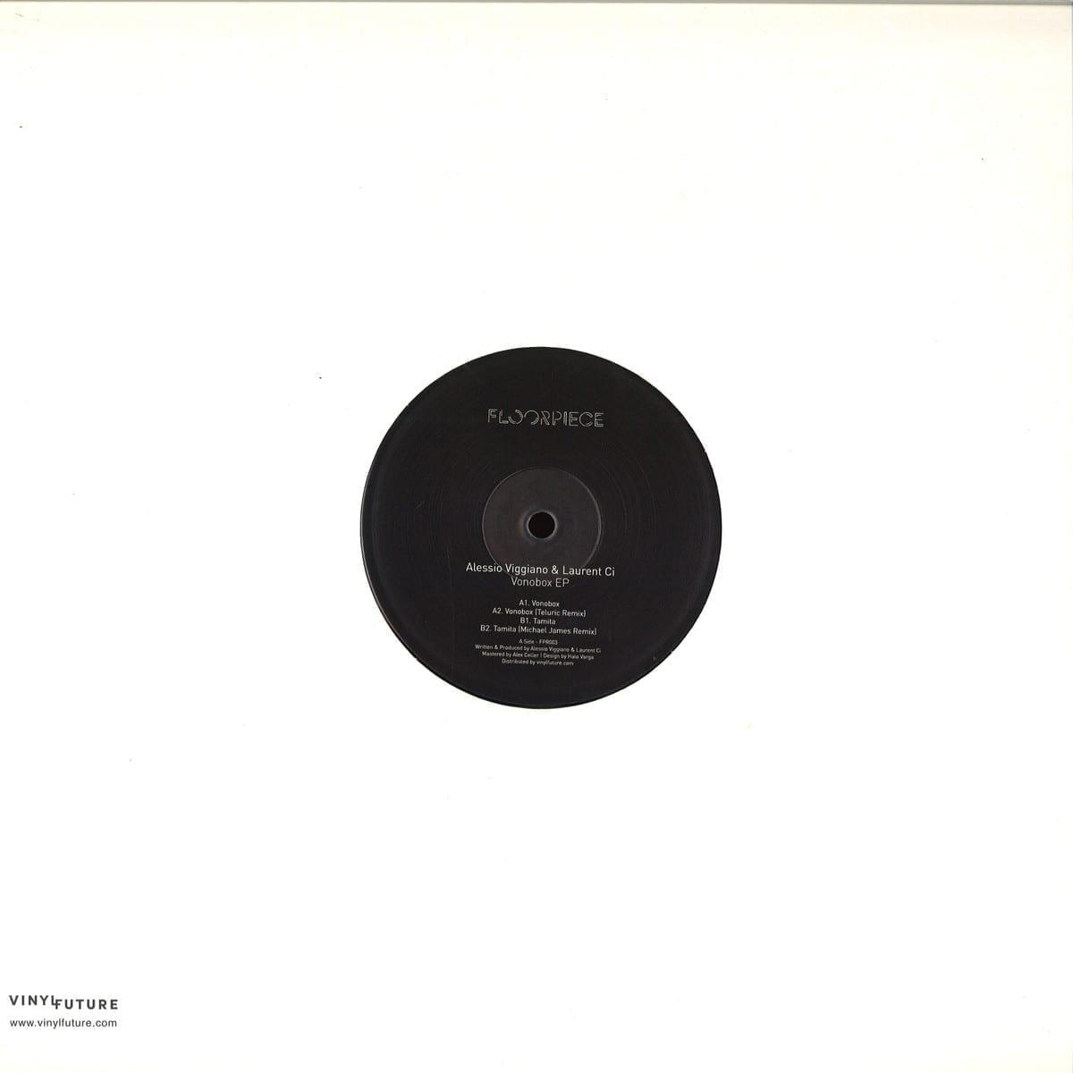 Alessio Viggiano, Laurent Ci - Vonobox EP [Floorpiece] sleeve