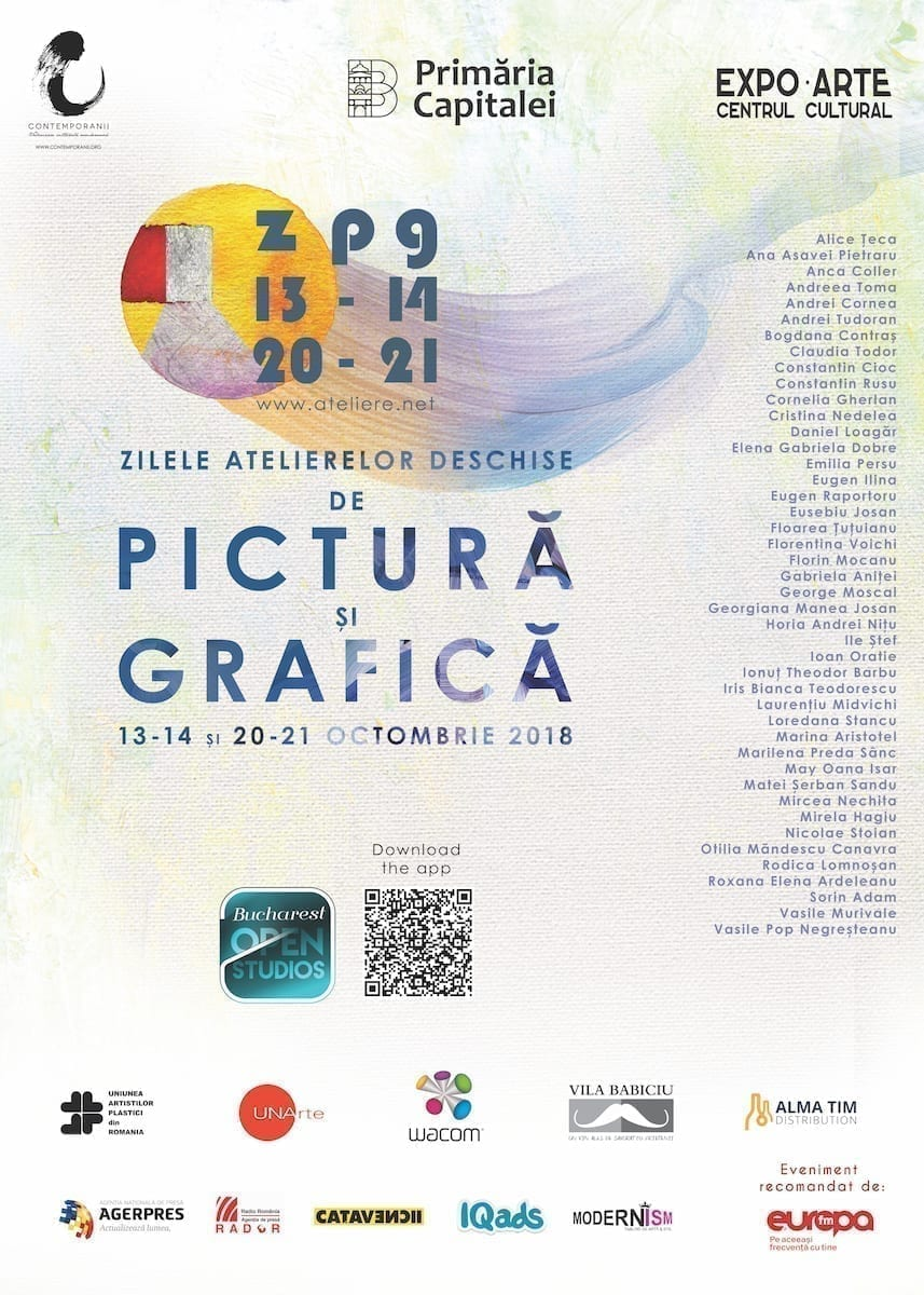 Zilele Atelierelor Deschise de Pictură și Grafică, octombrie 2018, București