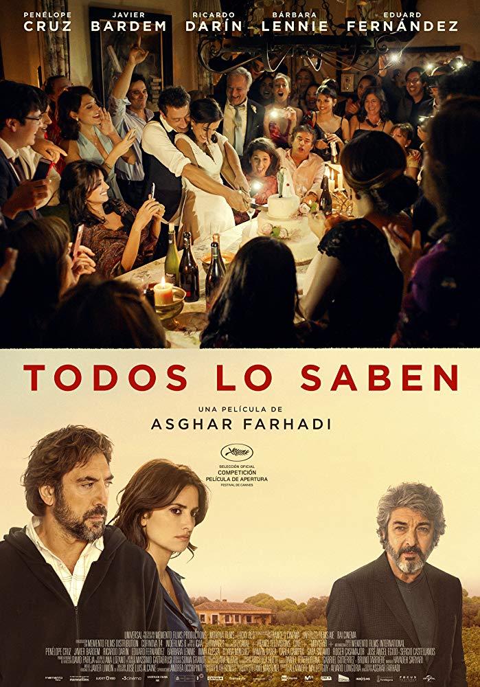 Everybody knows, un film de regizorul Iranian Asghar Farhadila Cinema
