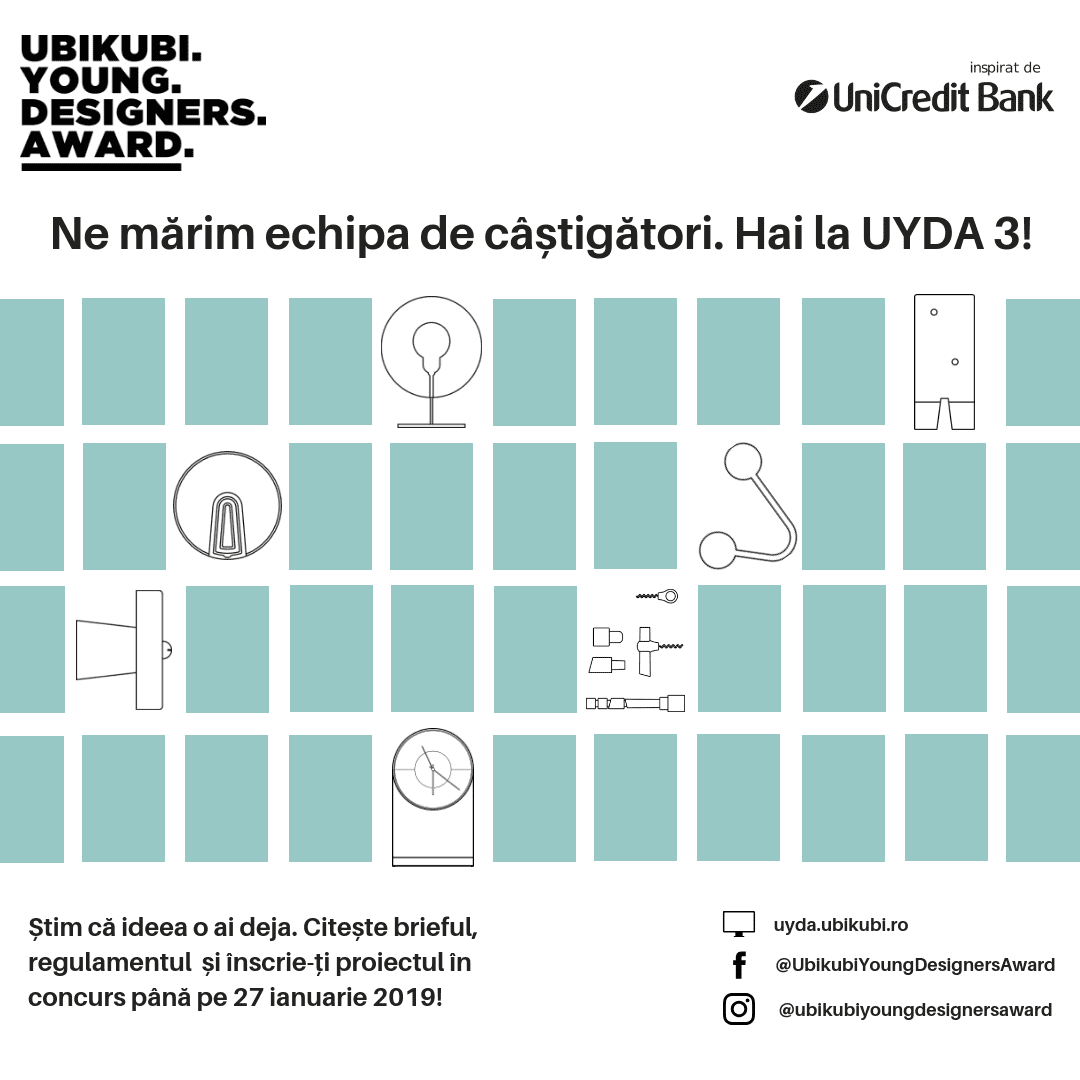 Ubikubi Young Designers Award – Ediția a III-a