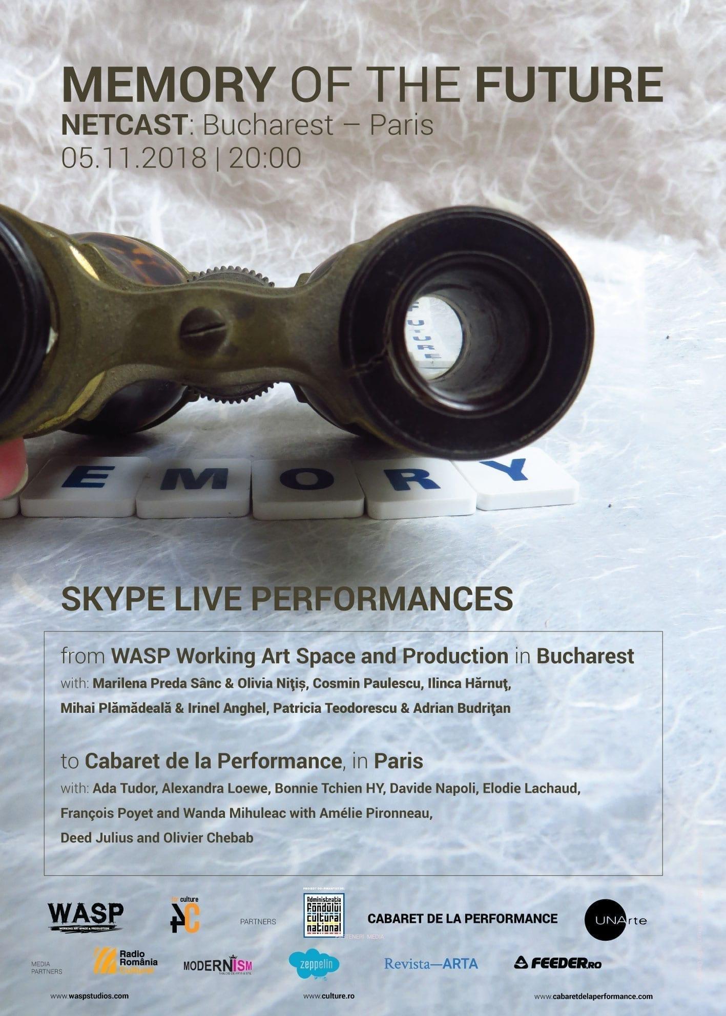 NETCAST: București - Paris, performance-uri transmise live în cele două capitale
