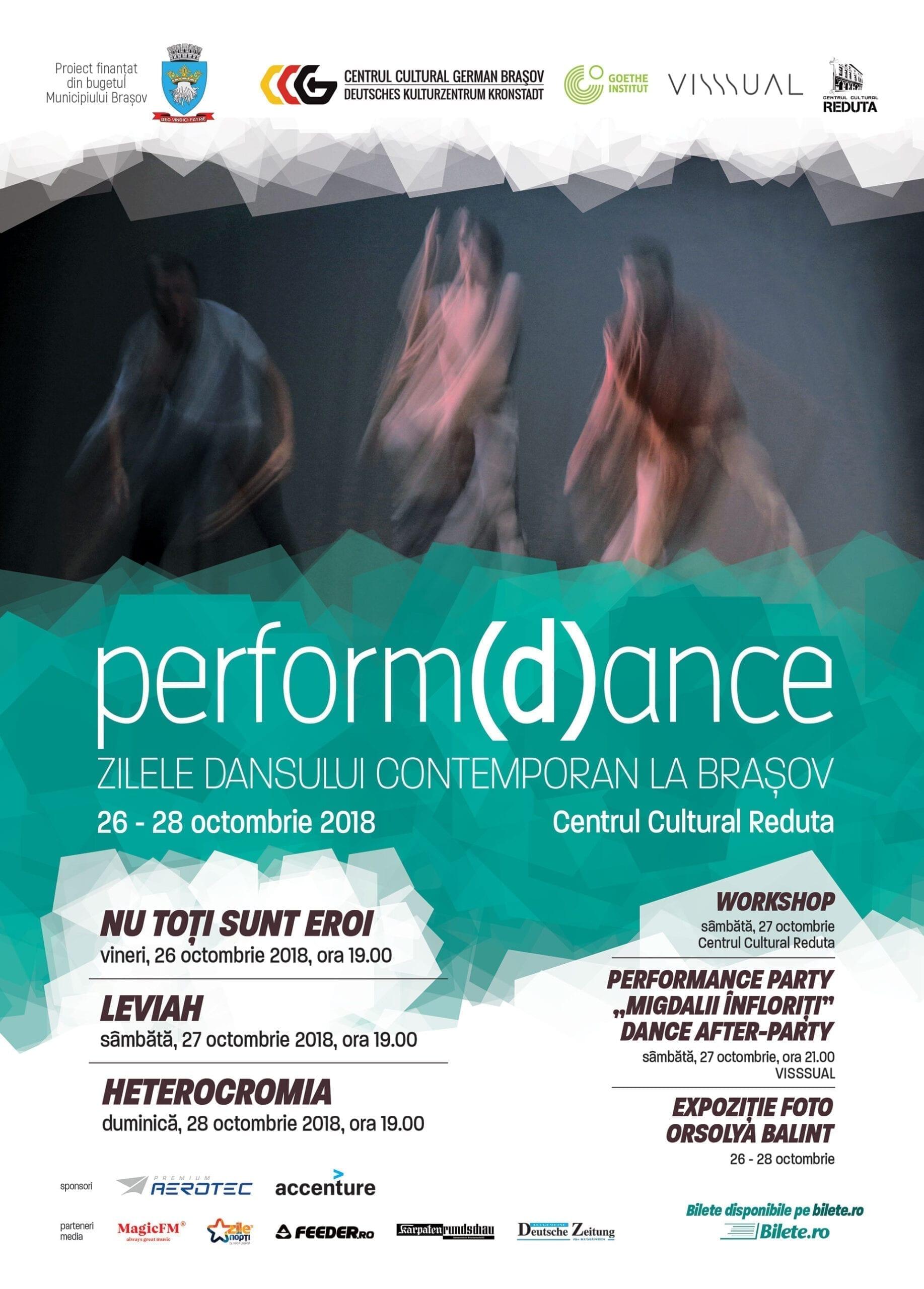 perform(d)ance - Zilele dansului contemporan la Brașov