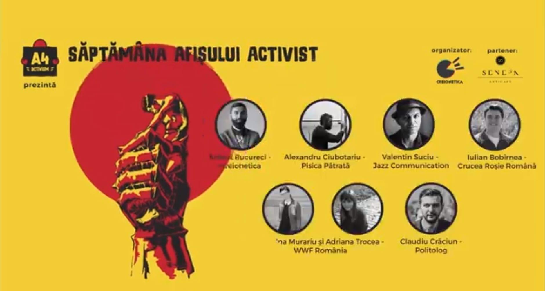 Săptămâna Afișului Activist