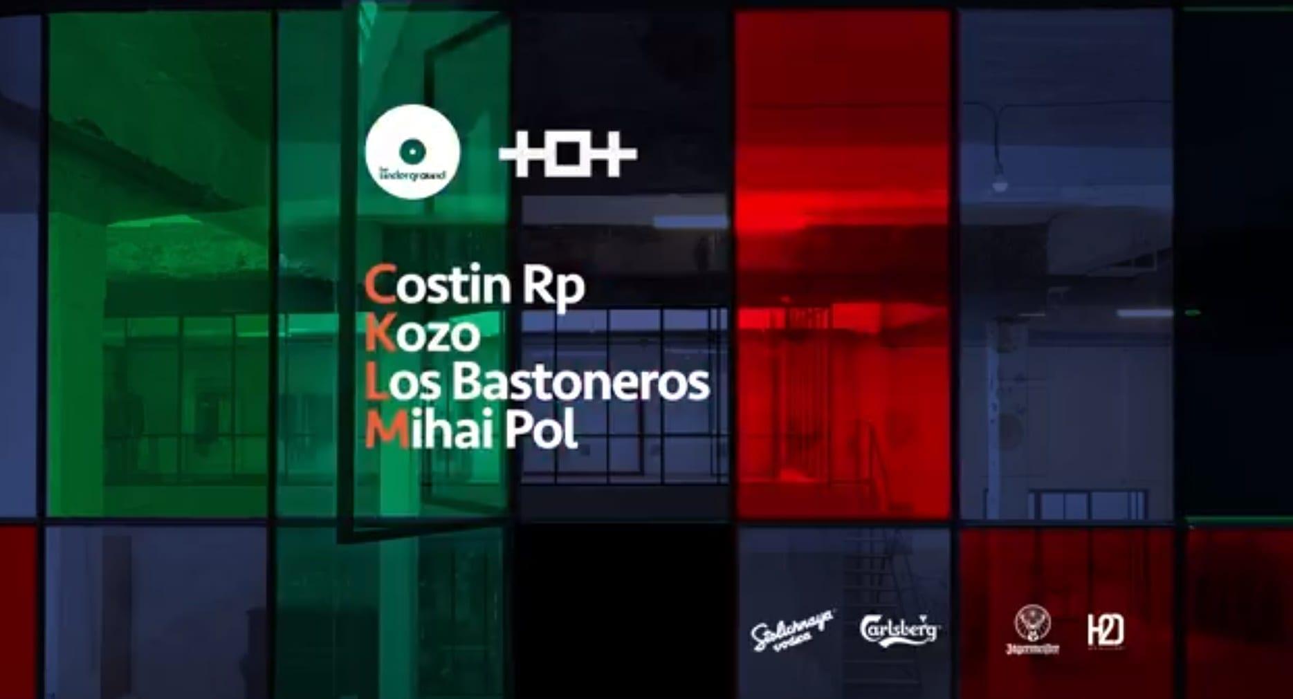Be Underground w. Kozo x Costin Rp x Mihai Pol x Los Bastoneros