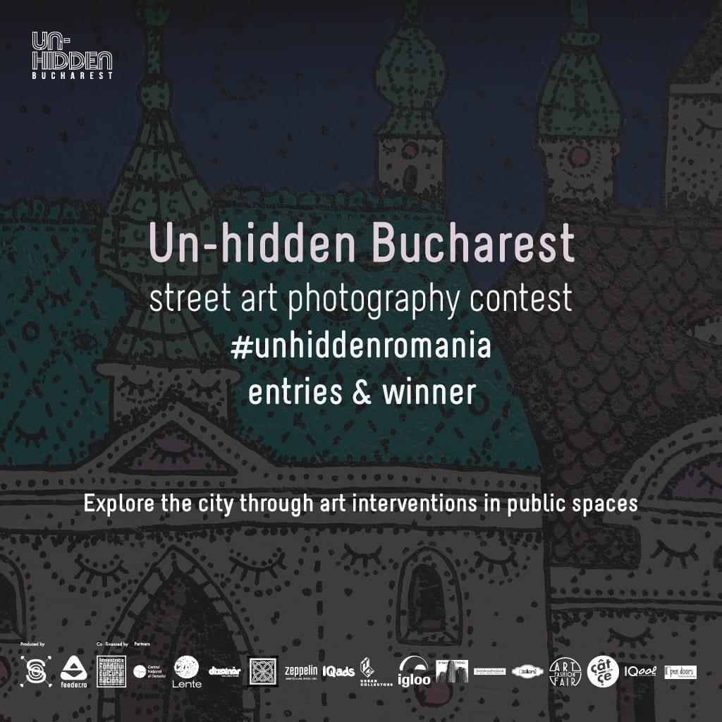 Descoperă înscrierile în concursul de fotografie de street art Un-hidden Bucharest II