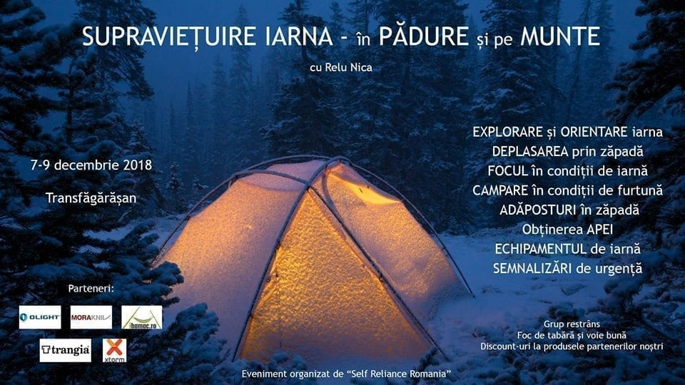 Supraviețuire Iarna - în Pădure și pe Munte