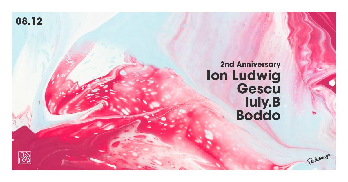 Dubla 2nd Anniversary: Ion Ludwig / Gescu / Iuly.B / Boddo