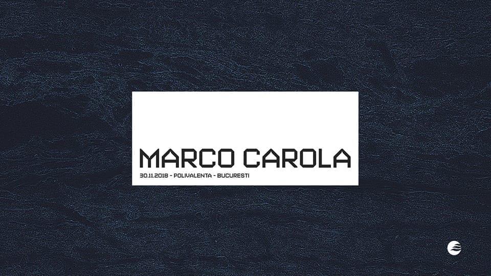 SUNRISE presents: Marco Carola - 30.11.2018