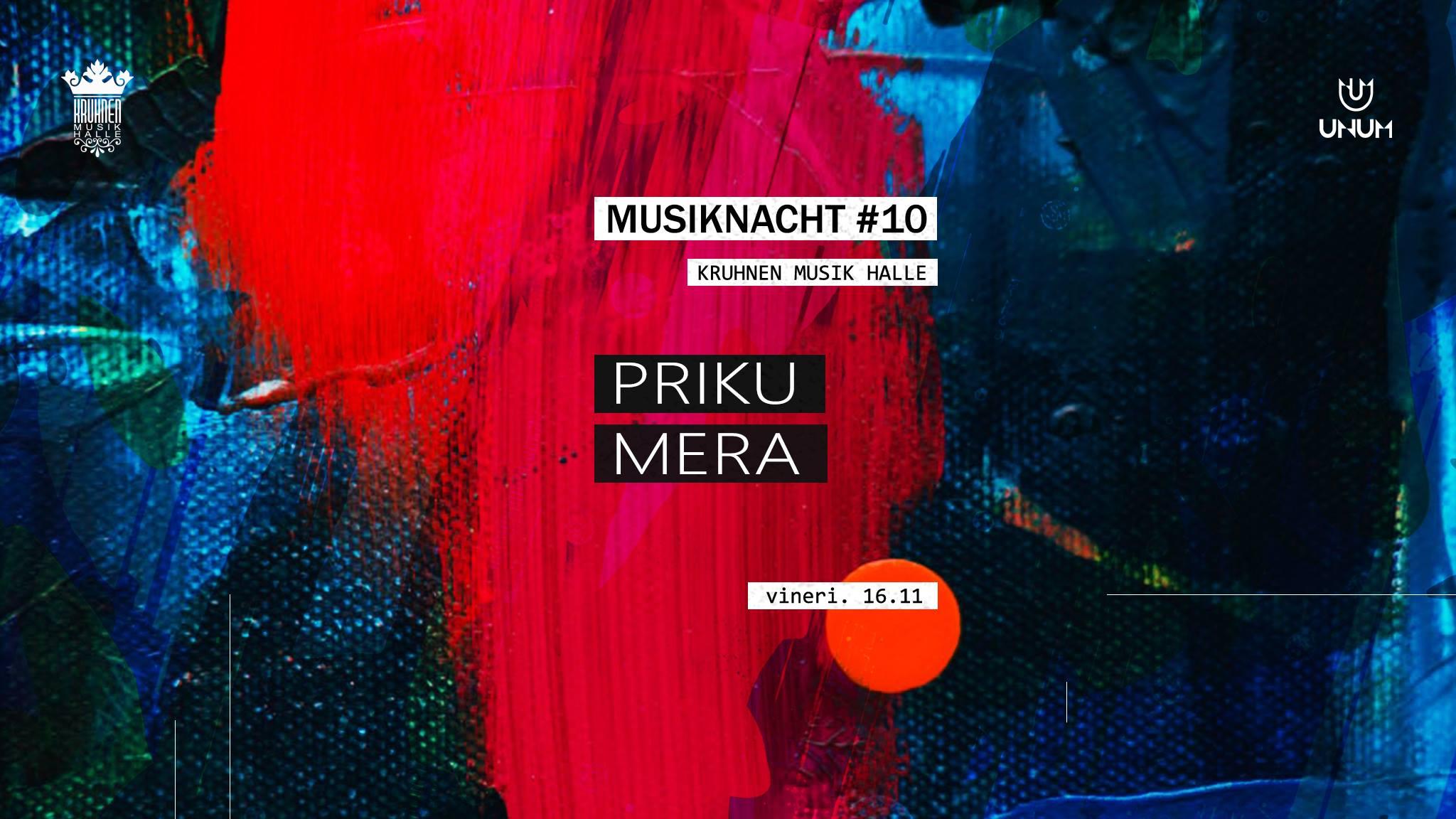 Musiknacht #10: Priku, Mera - 16.11