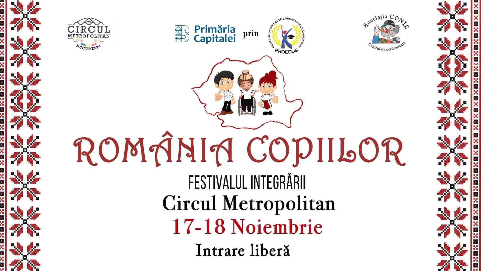 România Copiilor, ediție specială a Conil Fest