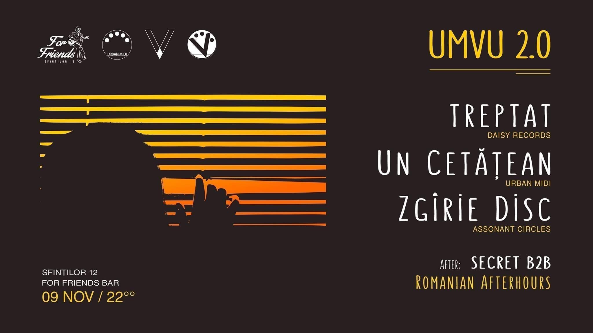 UMVU 2.0 w/ Zgîrie Disc - Treptat - Un Cetățean