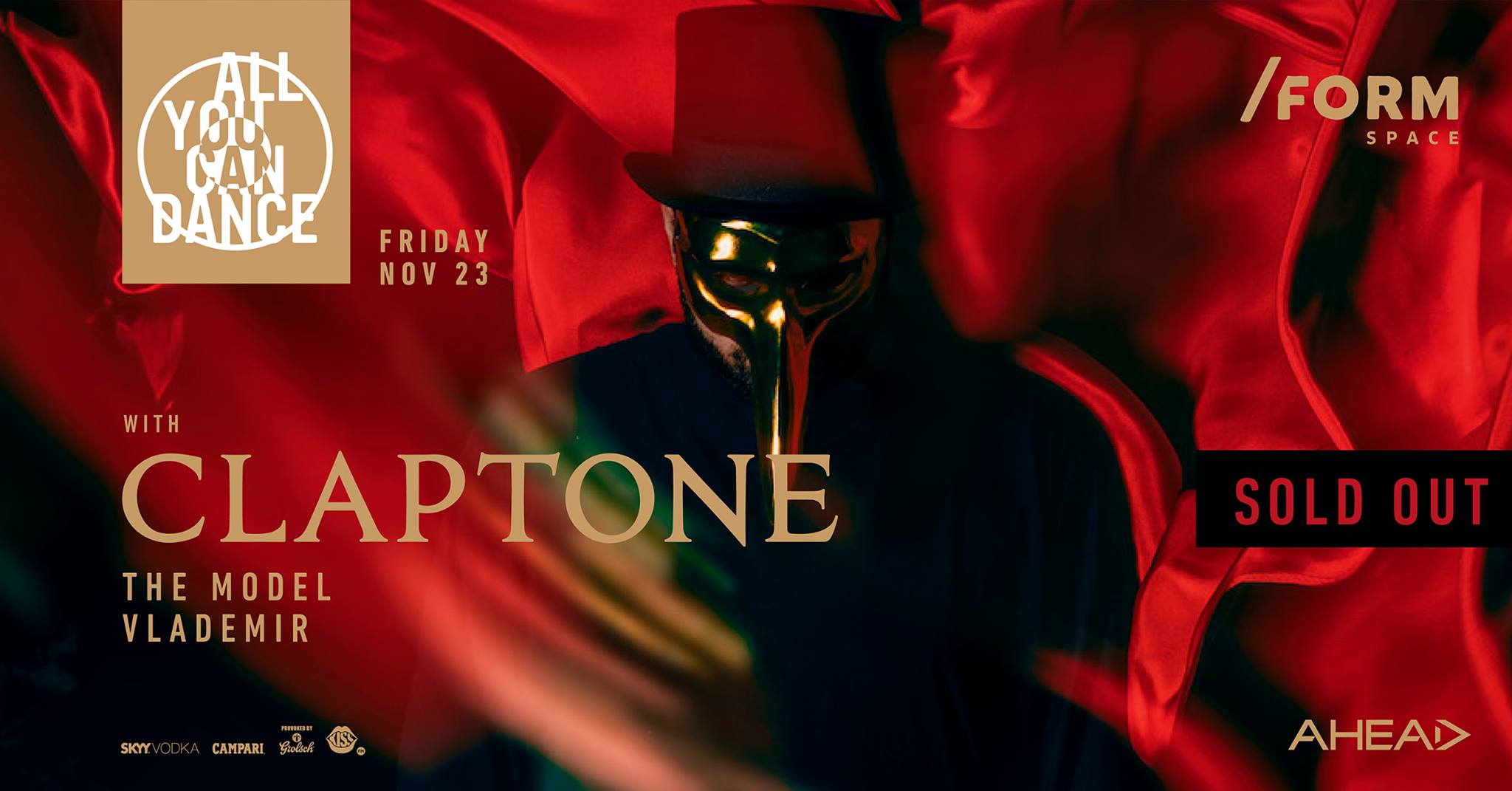Claptone | All You Can Dance at /FORM SPACE