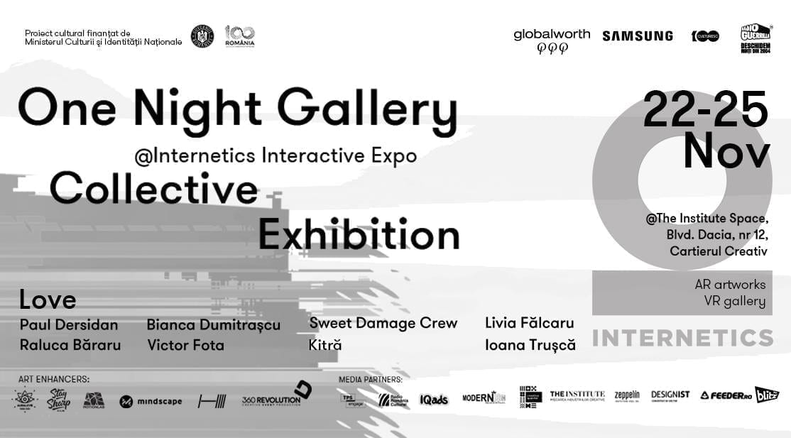 One Night Gallery @Internetics Interactive Expo