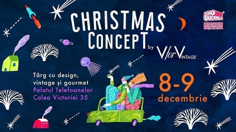 Christmas CONCEPT #3 – târg cu design, vintage, gourmet și bio cosmetics