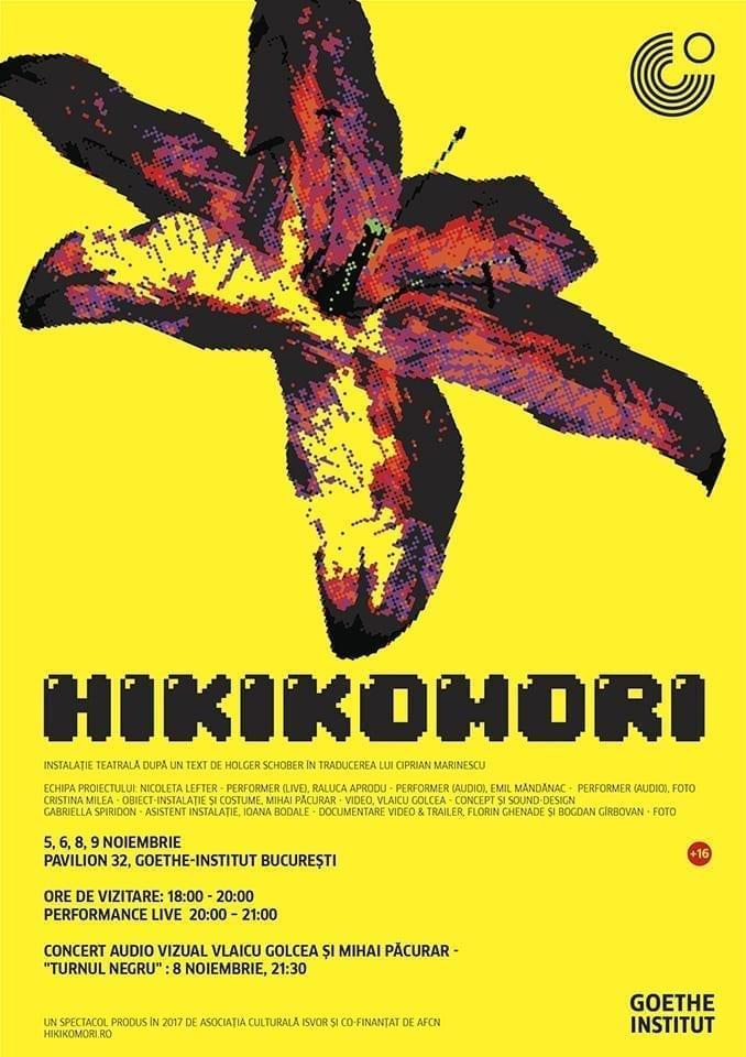 Goethe-Institut DESCHIDE PAVILION 32 cu o instalație teatrală inedită: HIKIKOMORI