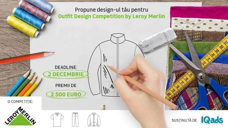 Hai să-ți înscrii primul proiect de bricolaj vestimentar, într-o competiție de design by Leroy Merlin & IQads