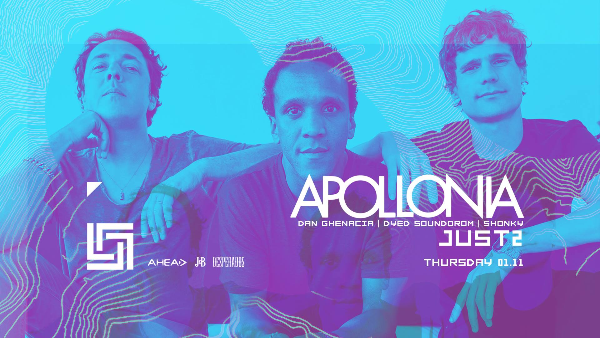 Dancefloor Smash w. Apollonia, JUST2 [rescheduled]