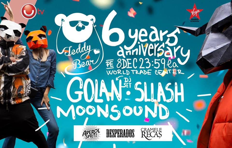 Teddy Bear Afterparty w. GOLAN (DJ set) / 6 Years Anniversary