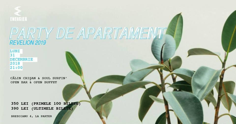 Party de Apartament – Revelion 2019 la Energiea