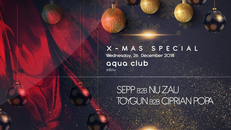 X-Mas Special - Sepp b2b Nu Zau - Toygun b2b Ciprian Popa