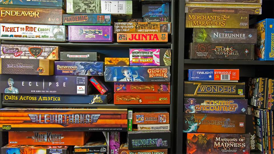 Board Games Garage Sale