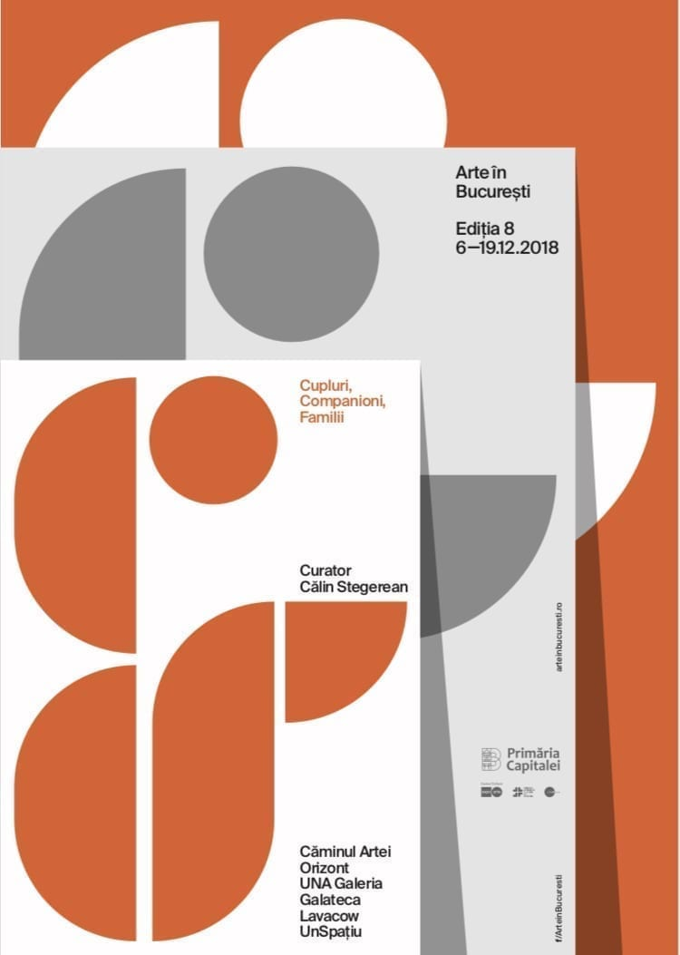Începe Arte în București, ediția a 8-a: 2 săptămâni de artă cu familii de artiști, peste 100 de lucrări, unele expuse pentru prima dată, 50 de artiști expozanți